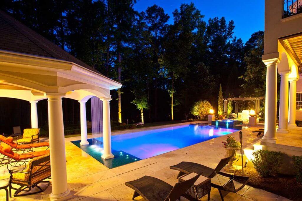 Pool Water Feature Atlanta