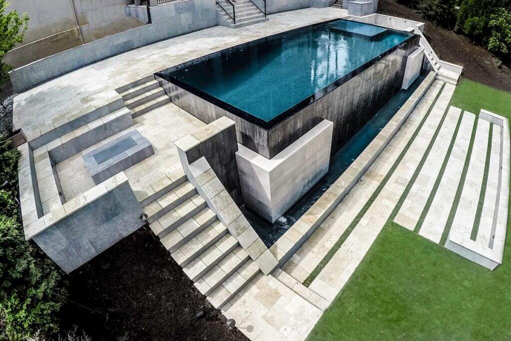 Infinity Edge Pool Design Georgia