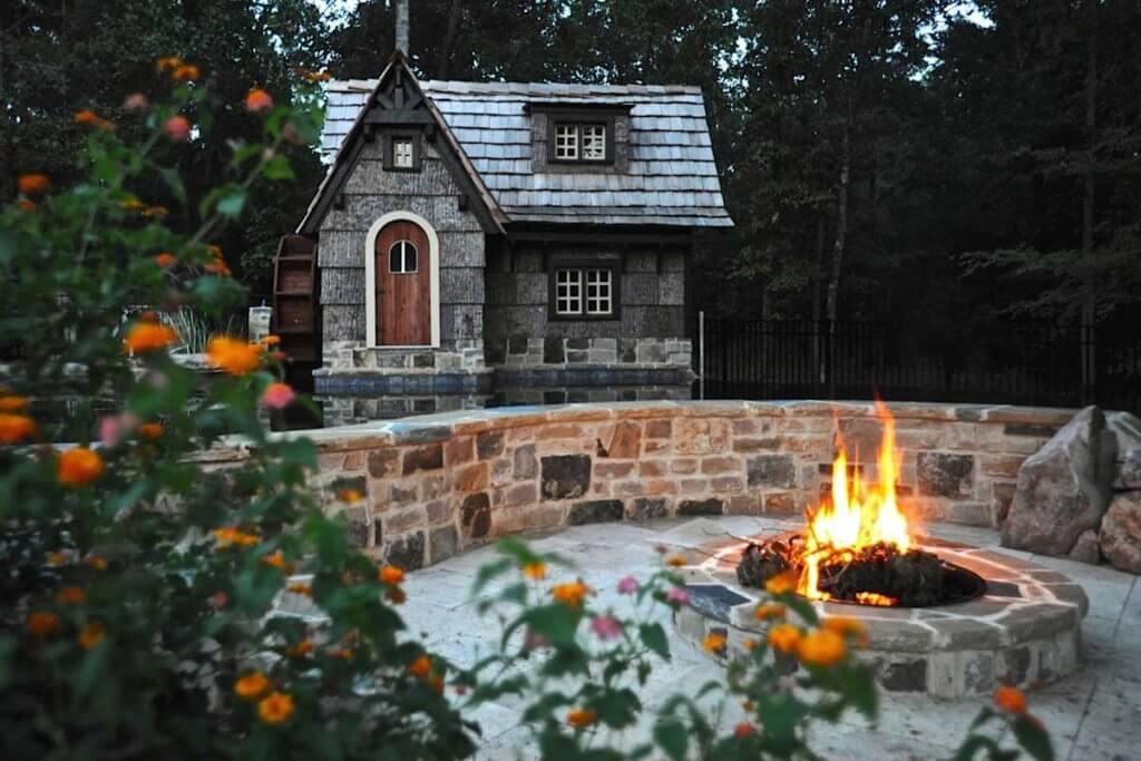 Outdoor Firepit Designer Atlanta Georgia